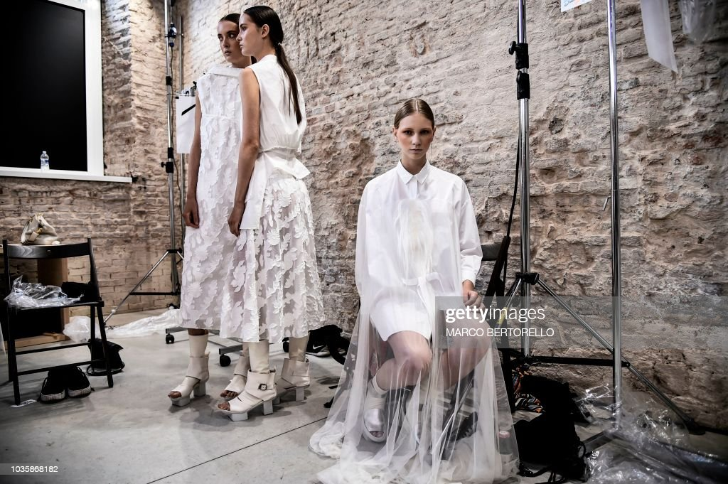 Alberto Zambelli - Backstage - Milan Fashion Week Spring/Summer 2019