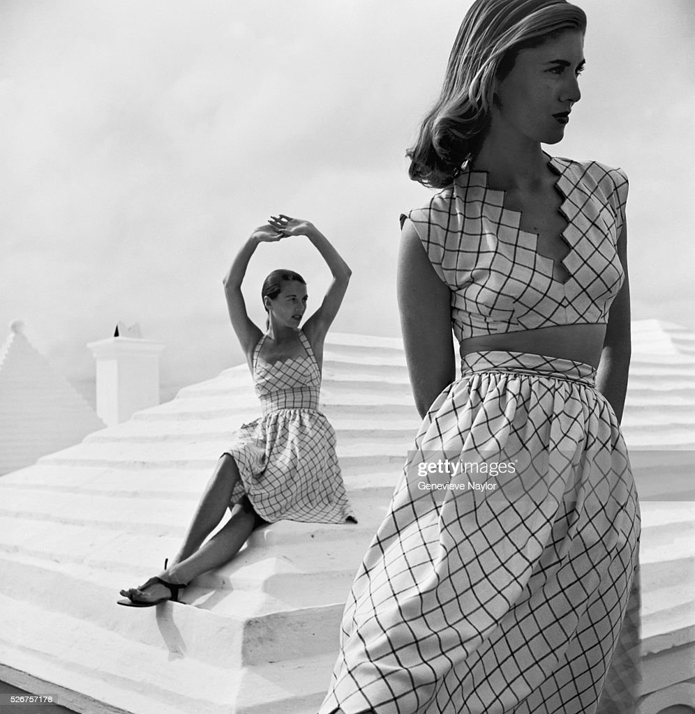 Models in Summer Dresses by Claire McCardell : News Photo