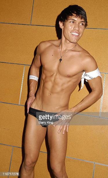 Models in the Andrew Christian Fashion Show at the Second Annual Reality Check Benefit held at Here Lounge on June 7 2008 in West Hollywood California