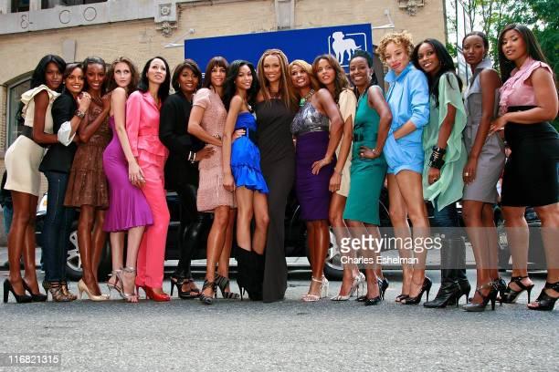 Models Jessica White Selita Ebanks Pat Cleveland Toccara Jones Veronica Webb Chanel Iman Tyra Banks Beverly Johnson Noemie Lenoir Stacey McKenzie and...