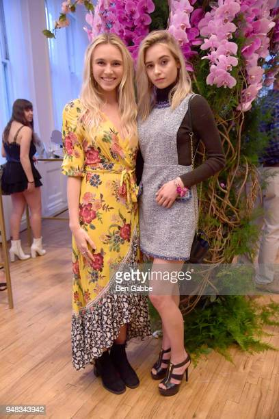 Models Larissa Schot and Tatiana Crawford attend an Enchanted Evening with RHONY's Carole Radziwill and the TODAY Show's Lilliana Vazquez Hosted by...