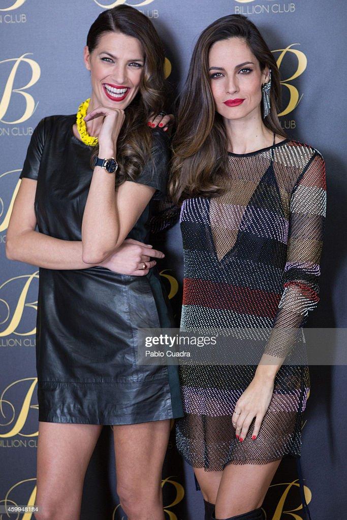 Celebrities Inaugurate 'Billion Club' in Madrid
