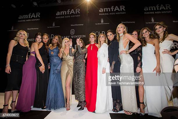 Models Lily Donaldson Kendall Jenner Joan Smalls Jourdan Dunn Lara Stone Carine Roitfeld Doutzen Kroes Maryna Linchuk Adriana Lima and Karlie Kloss...