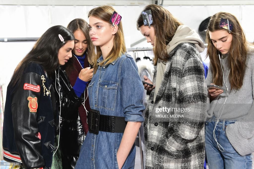 Blumarine - Backstage - Milan Fashion Week Fall/Winter 2018/19