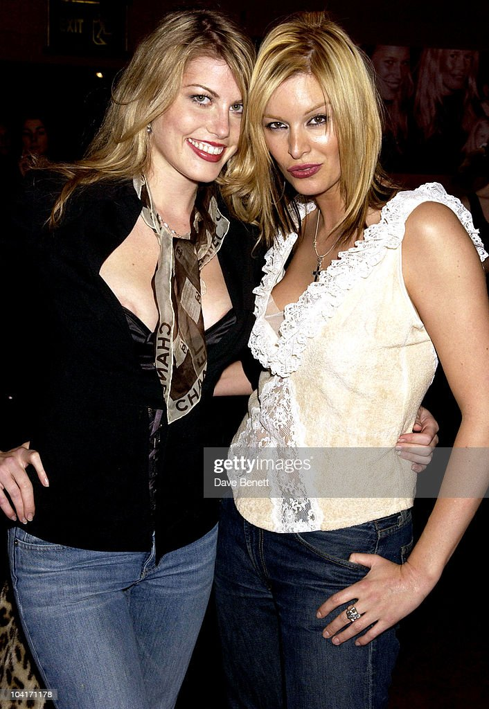 Models Meridith And Catalena, 'The Banger Sisters' Movie Premiere Held At The Warner West End, Then The Party At Jewel In Picadilly, London