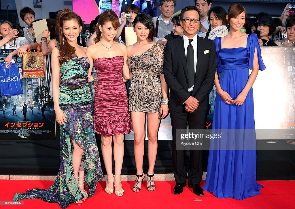 'Inception' Japan Premiere : News Photo