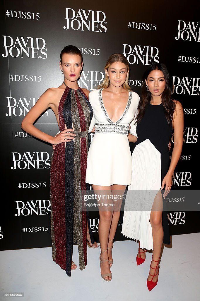 David Jones Spring/Summer 2015 Fashion Launch - Arrivals : News Photo