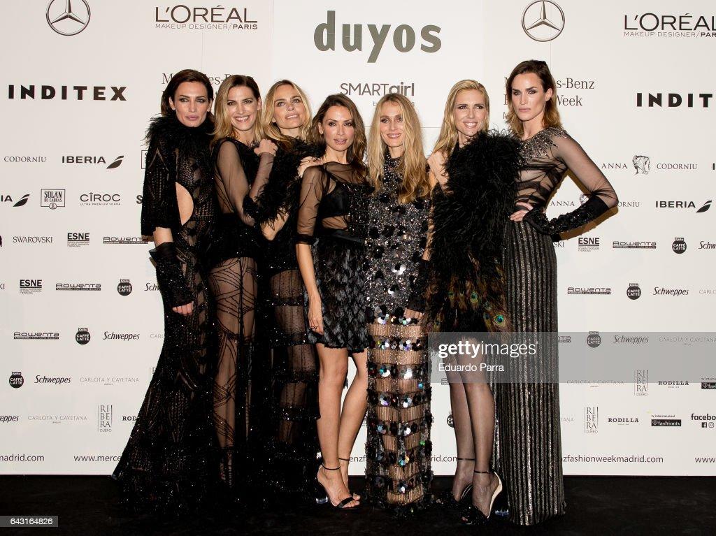 Backstage - Mercedes Benz Fashion Week Madrid Autumn / Winter 2017