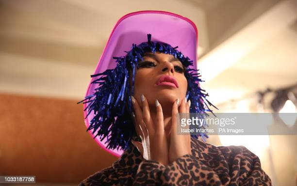 Models on the backstage during the NICOPANDA during London Fashion Week September 2018. PRESS ASSOCIATION. Picture date: Friday September 14, 2018....