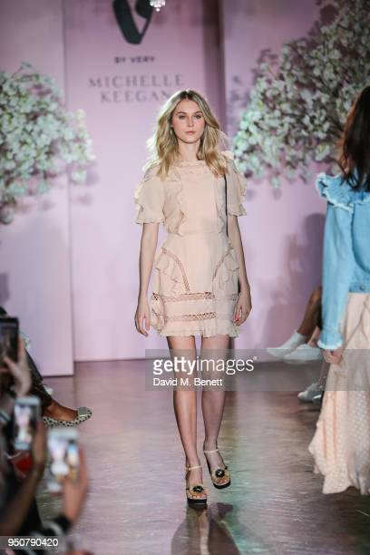 Models on the catwalk during Keegan's first show for Verycouk at One Marylebone on April 24 2018 in London England