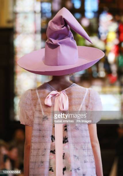 Models on the catwalk during Ryan Lo London Fashion Week show at Stationers Hall PRESS ASSOCIATION Picture date Friday September 14 2018 Photo credit...