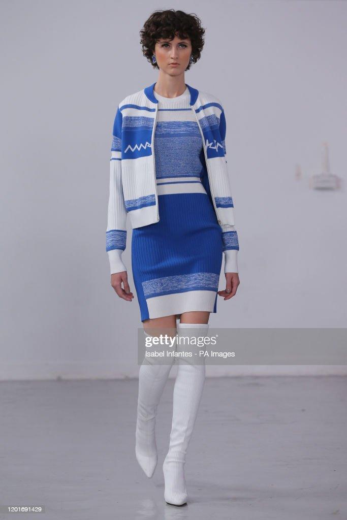 Mark Fast Catwalk - London Fashion Week February 2020 : News Photo