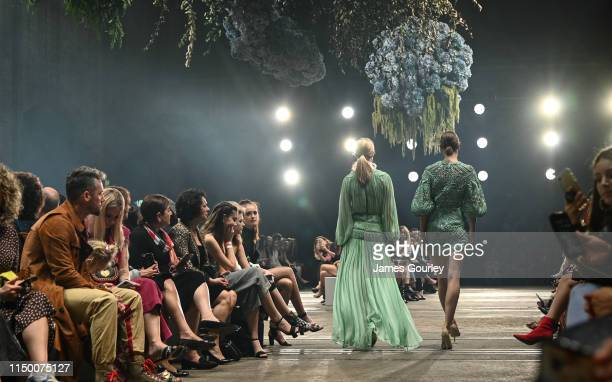 Models on the catwalk during the Resort '20 Event and Cocktail Collections Show, during day 2 of Mercedes-Benz Fashion Week Australia - Weekend...