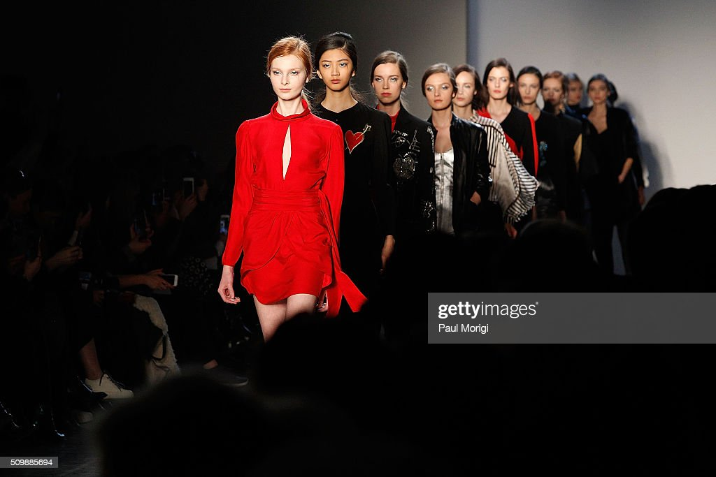 Giulietta - Front Row & Backstage - Fall 2016 New York Fashion Week : News Photo