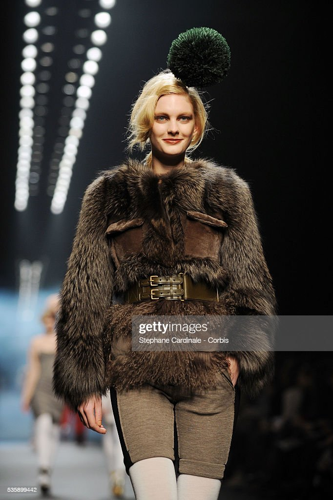 Models on the runway at the Sonia Rykiel Ready To Wear show, as part of the Paris Fashion Week Fall/Winter 2010-2011.