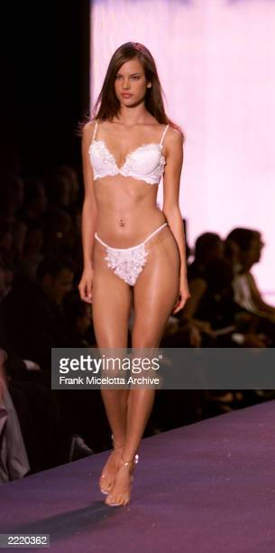 Models on the runway at the Victoria's Secret fashion show benefit for amfAR Cinema Against Aids 2000 at the Cannes Film Festival 5/18/00