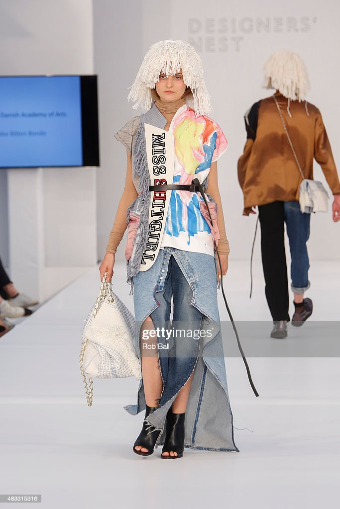 Models on the runway for Designers Nest show during the third day of Copenhagen Fashion Week Spring/Summer 2016 on August 7, 2015 in Copenhagen, Denmark.