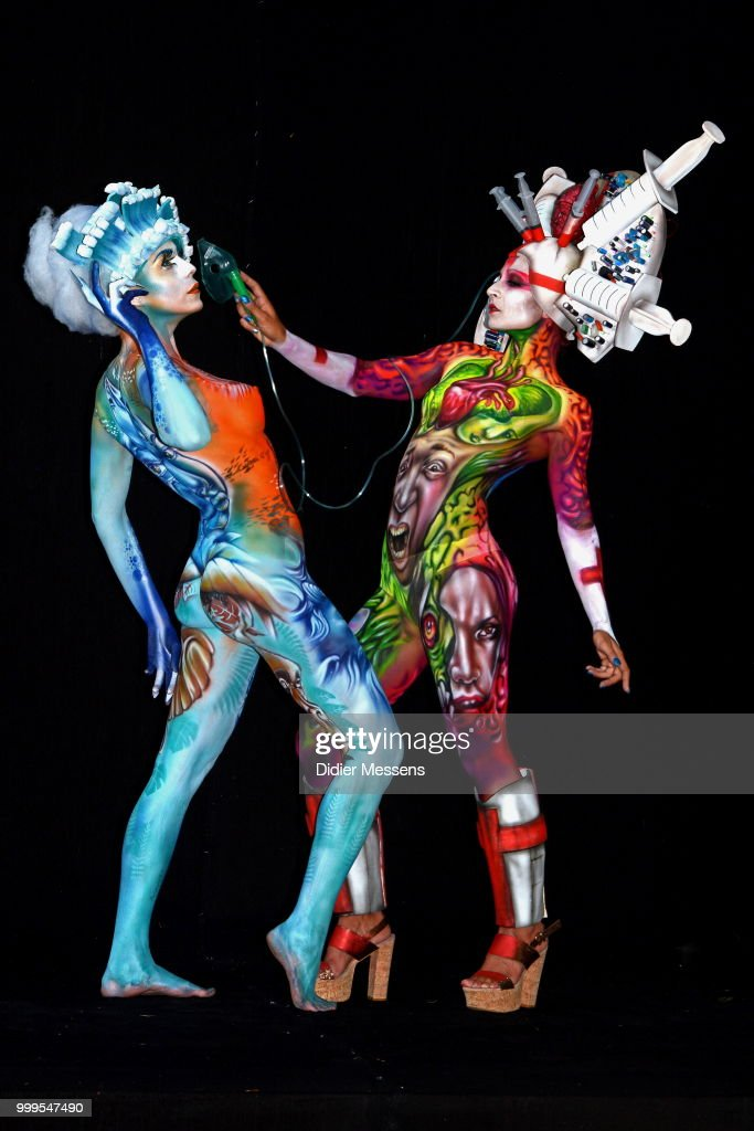 Stunning Creations At The World Bodypainting Festival