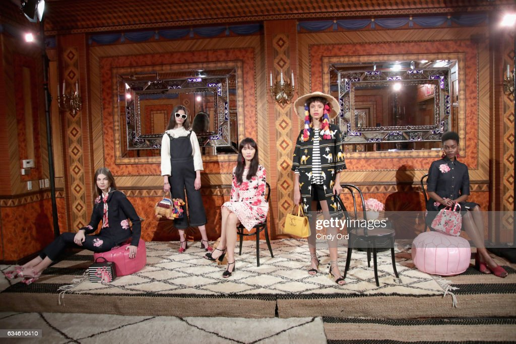 kate spade new york Spring 2017 Fashion Presentation : News Photo