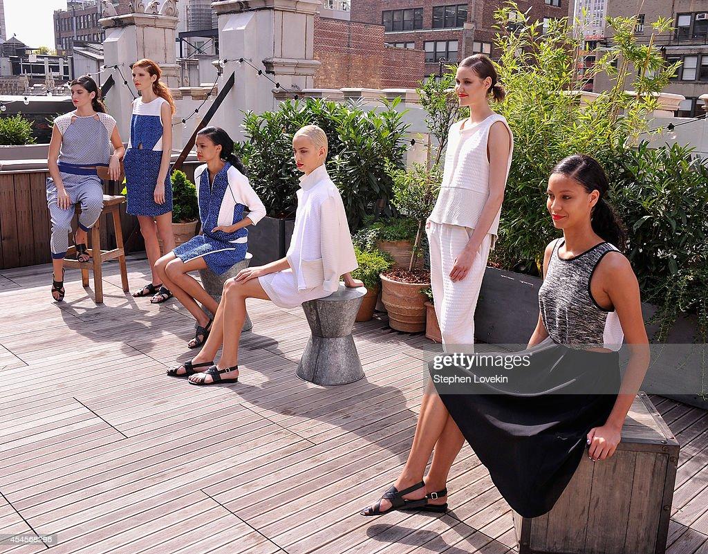 Ann Yee - Presentation - Mercedes-Benz Fashion Week Spring 2015 : Nachrichtenfoto