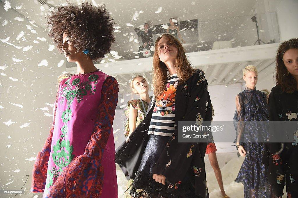 Cynthia Rowley - Presentation - September 2016 New York Fashion Week: The Shows : News Photo