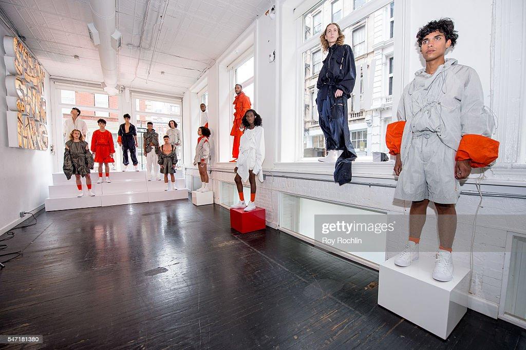 NY: Feng Chen Wang - Presentation - New York Fashion Week: Men's S/S 2017