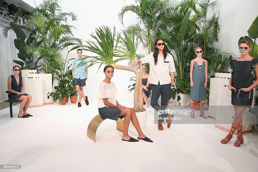 Krewe New Orleans Eyewear - Presentation - September 2016 - MADE Fashion Week : Fotografía de noticias