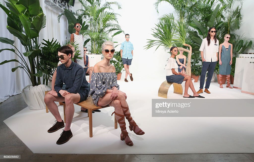 Krewe New Orleans Eyewear - Presentation - September 2016 - MADE Fashion Week : News Photo