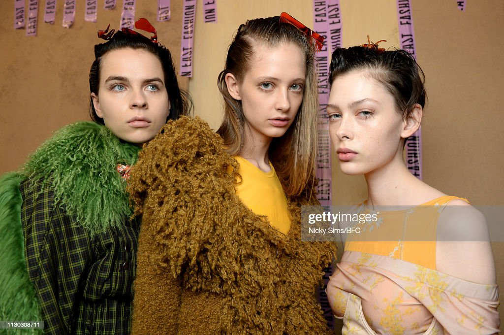 GBR: Fashion East - Backstage - LFW February 2019