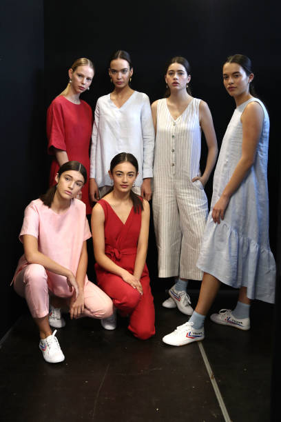 NZL: Hej Hej - Backstage - New Zealand Fashion Week 2018
