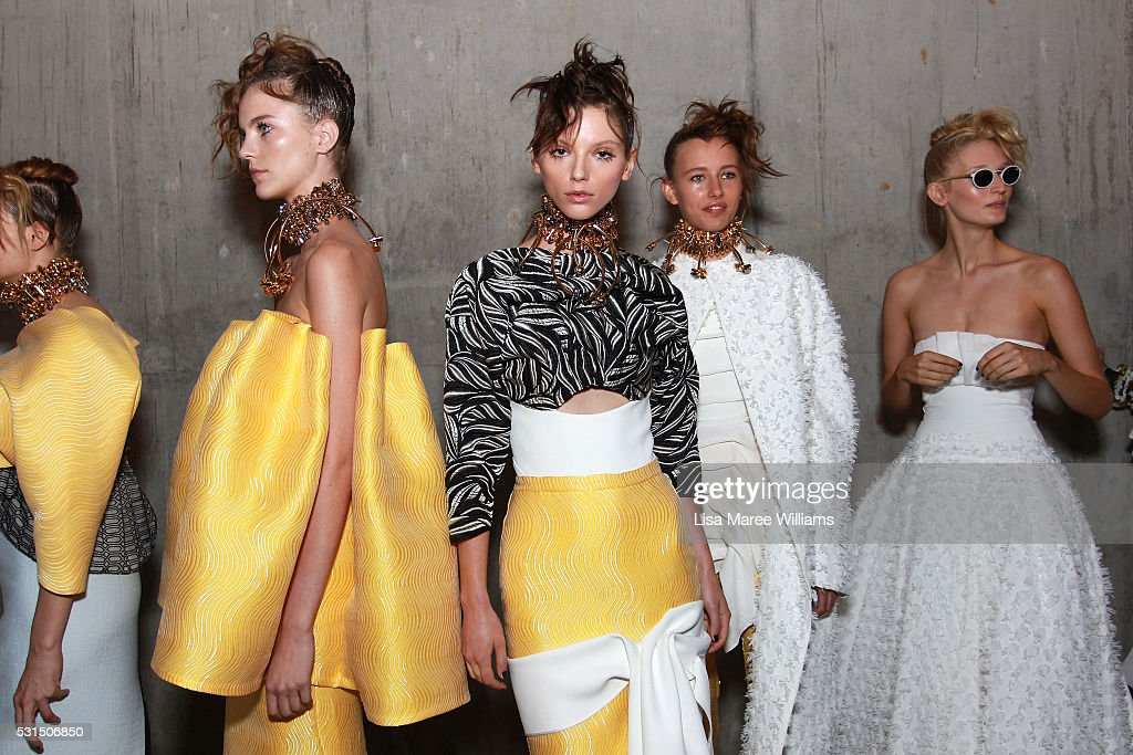 Mercedes-Benz Presents Maticevski - Backstage - Mercedes-Benz Fashion Week Australia 2016 : News Photo