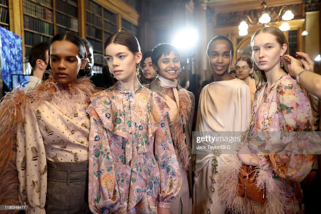 GBR: Peter Pilotto - Backstage - LFW February 2019