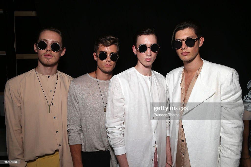 Raffles International Showcase - Backstage - Mercedes-Benz Fashion Week Australia 2015 : News Photo