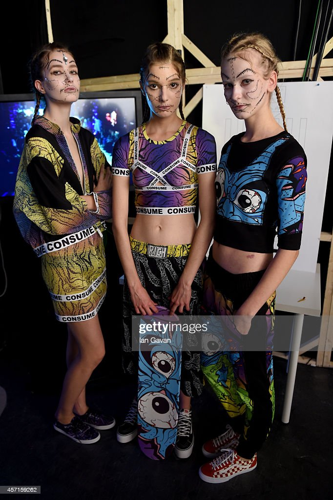 DB Berdan: Backstage - MBFWI Spring/Summer 2015 : News Photo