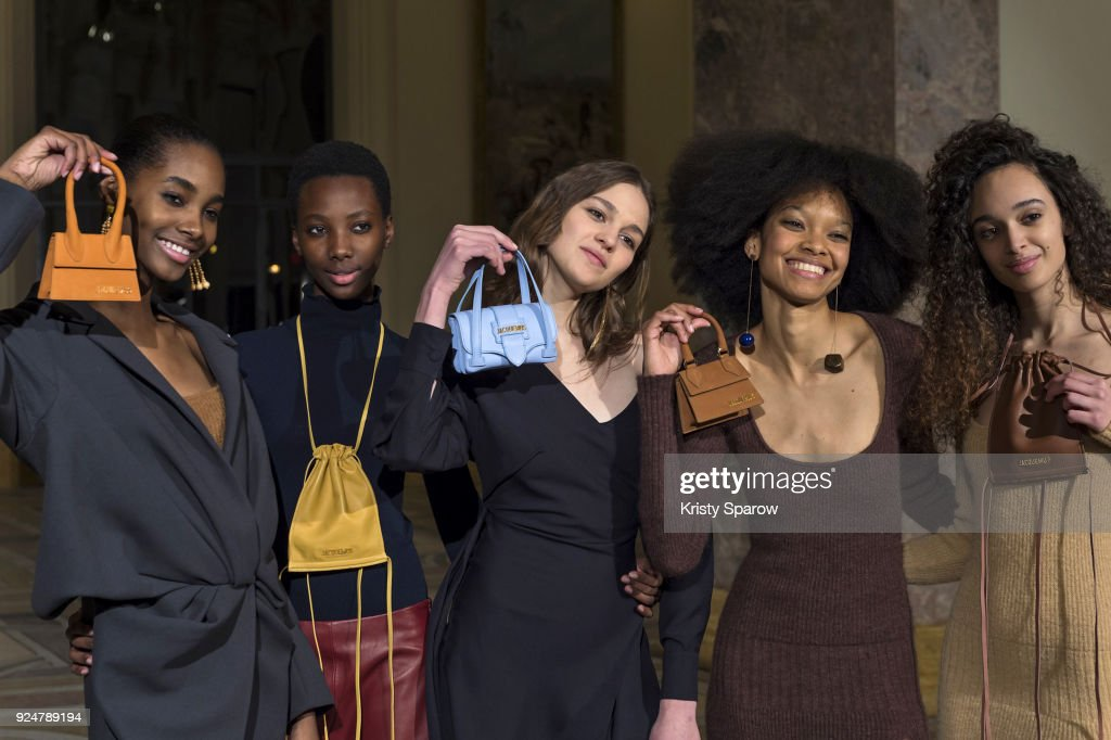 Jacquemus: Backstage - Paris Fashion Week Womenswear Fall/Winter 2018/2019 : News Photo