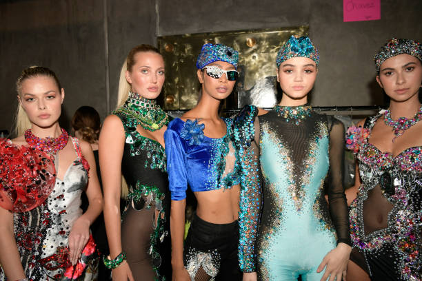 CA: Los Angeles Fashion Week Powered By Art Hearts Fashion - Backstage & Front Row - Day 3