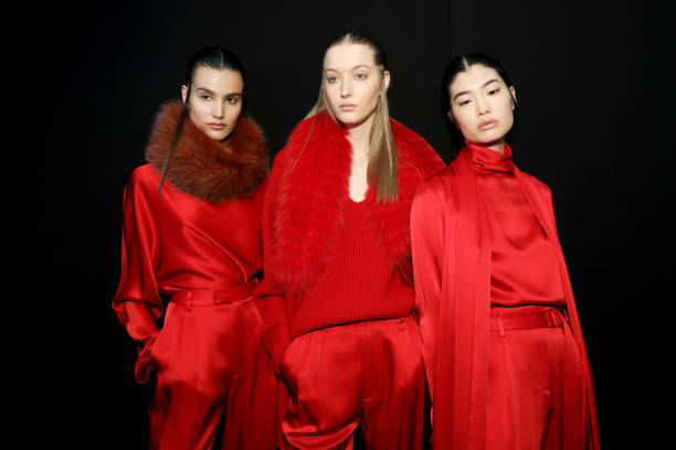 NY: Sally LaPointe - Backstage - February 2020 - New York Fashion Week: The Shows