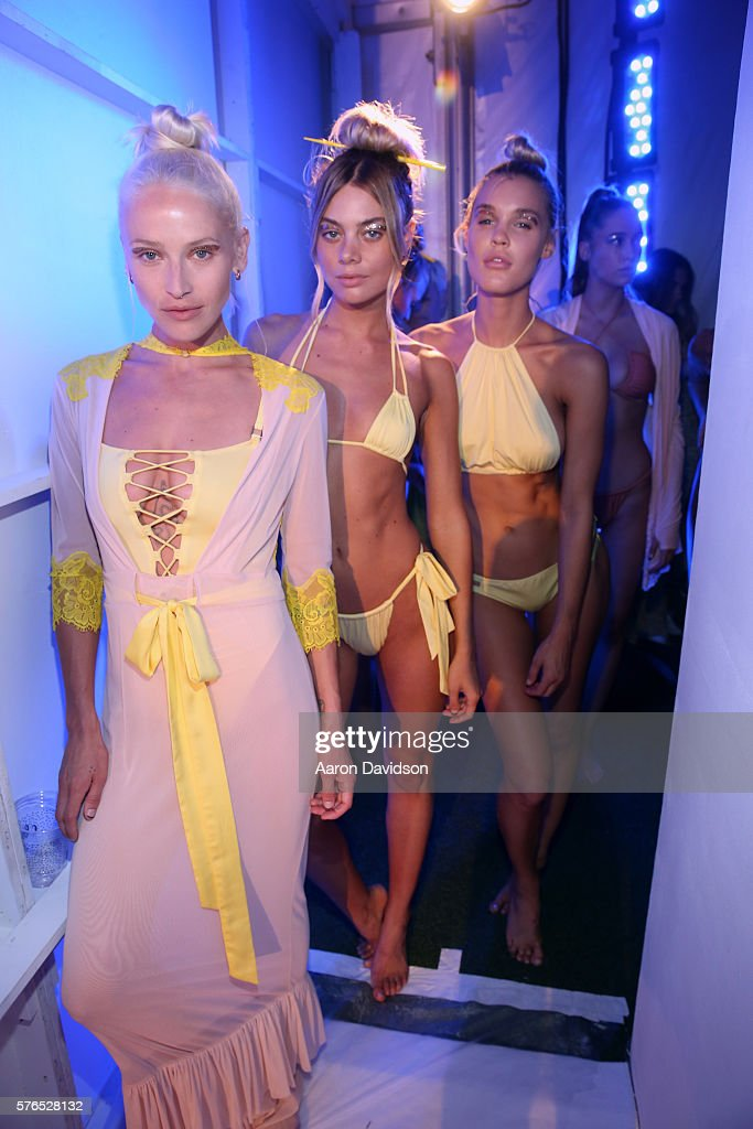 FL: Hot-As-Hell 2017 Collection at SwimMiami - Backstage