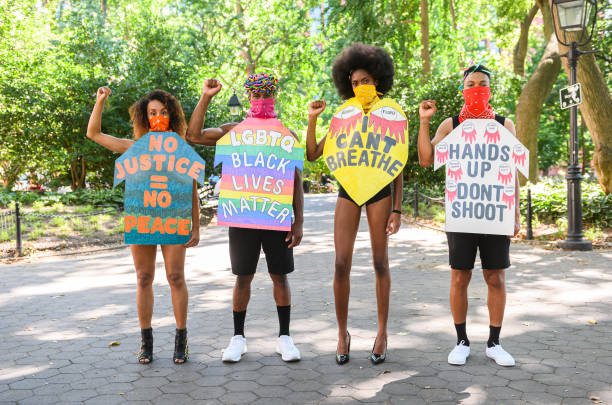 NY: Designer Jason Christopher Peters Showcases New Collection As A Form Of Protest