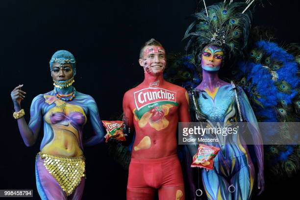 Body Painting Stock Pictures Royalty Free Photos Images Getty Images
