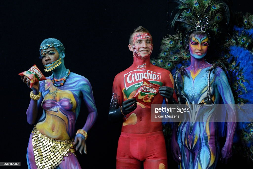 Models Pose For A Picture A The 21st World Bodypainting Festival 2018 News Photo Getty Images