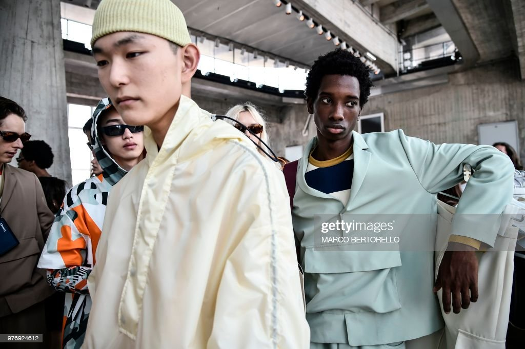 Sunnei - Runway - Milan Men's Fashion Week Spring/Summer 2019