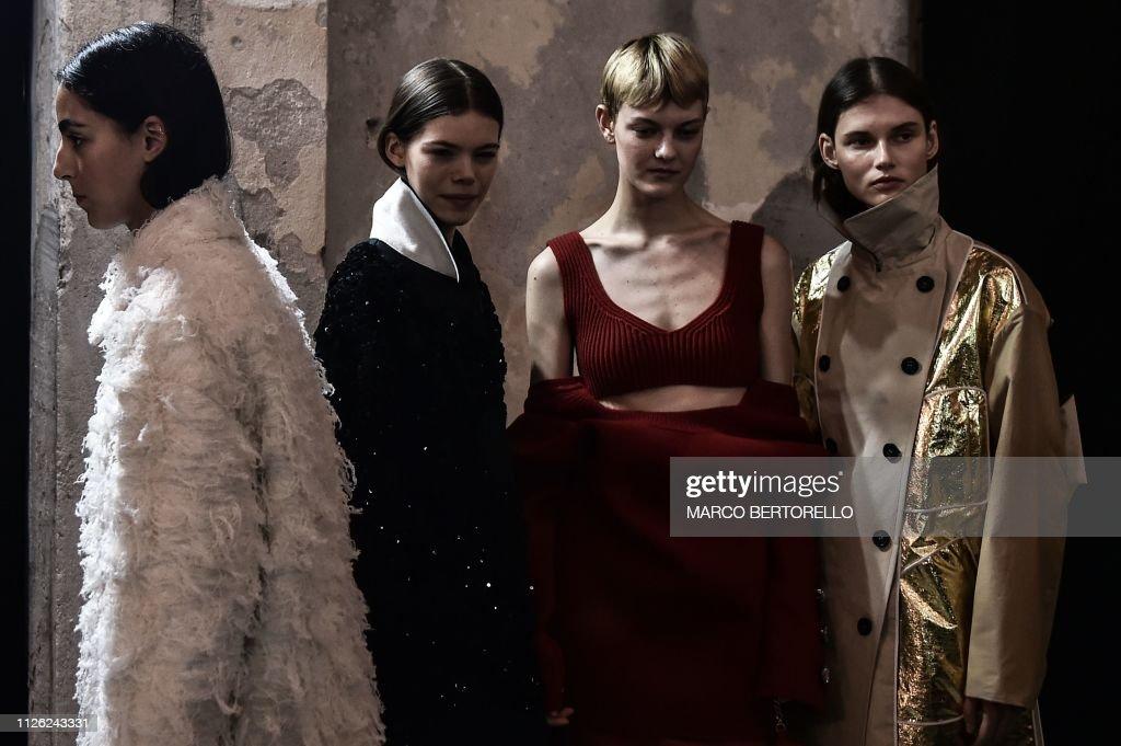 ITA: No21 - Backstage: Milan Fashion Week Autumn/Winter 2019/20