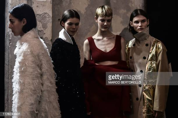 ITA: No21 - Backstage: Milan Fashion Week Autumn/Winter 2019/20