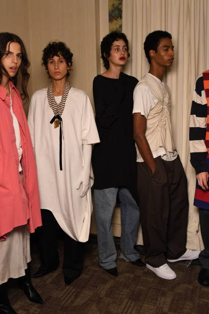 NY: Vaquera, CDLM/Creatures Of The Wind, And Section 8 - Backstage - September 2019 - New York Fashion Week: The Shows
