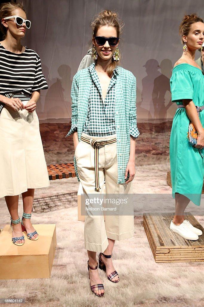 J.Crew - Presentation - Spring 2016 New York Fashion Week: The Shows : Nachrichtenfoto