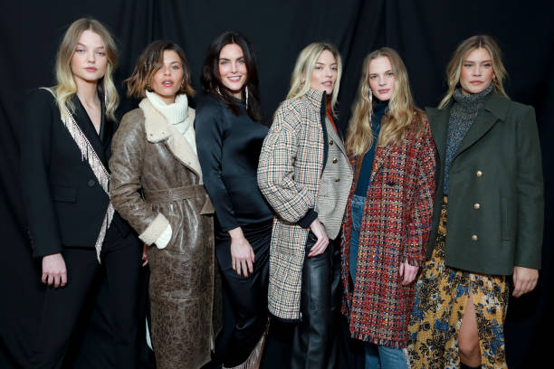 NY: Veronica Beard - Backstage - February 2020 - New York Fashion Week: The Shows