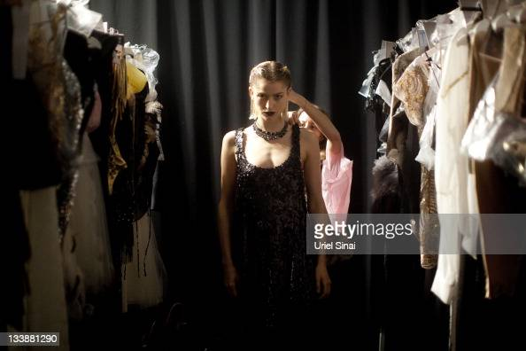 Models Prepare Backstage Before A Fashion Show By Israeli Designer News Photo Getty Images