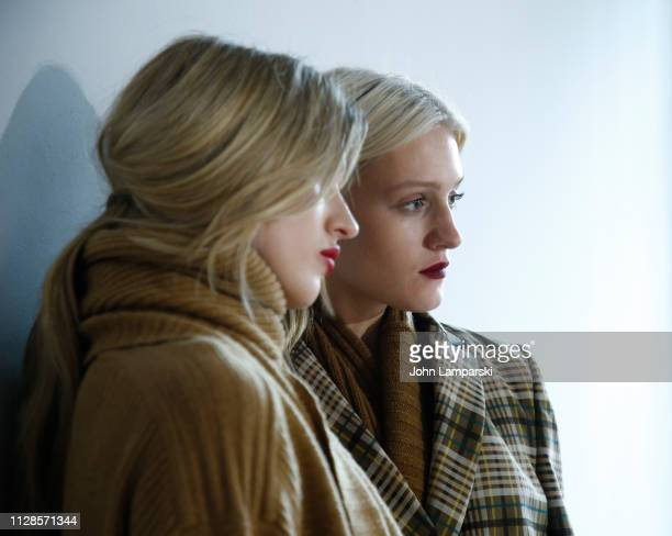 Models prepare backstage for Jonathan Simkhai show during New York Fashion Week The Shows at Industria Studios on February 09 2019 in New York City