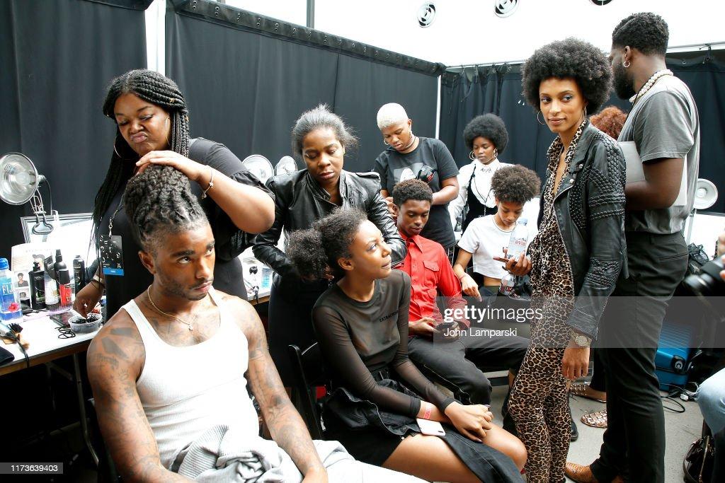 Studio 189 - Backstage - September 2019 - New York Fashion Week: The Shows : News Photo